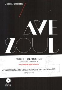 Portada AVE SOUL de Jorge Pimentel