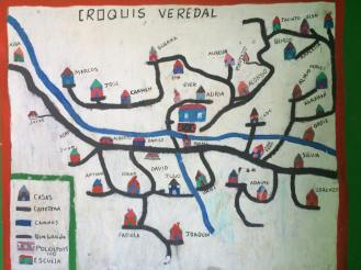 Map of the Rural Community