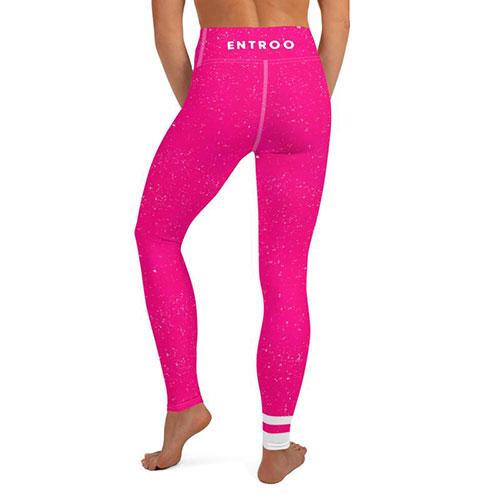 entroo-barbie-pink-yoga-leggings-back