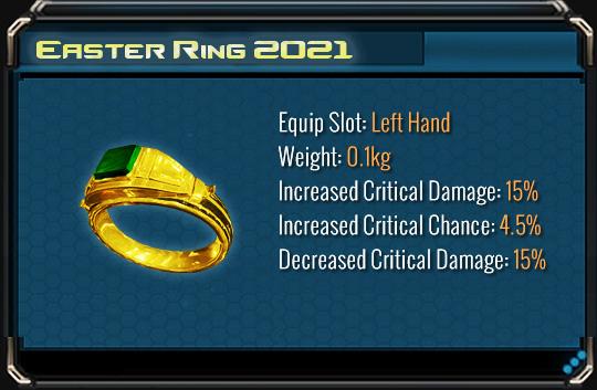 Easter ring 2021