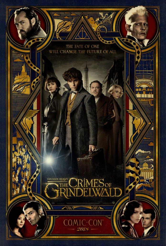 'Animales Fantásticos: Los Crímenes de Grindelwald' Póster Comic-Con