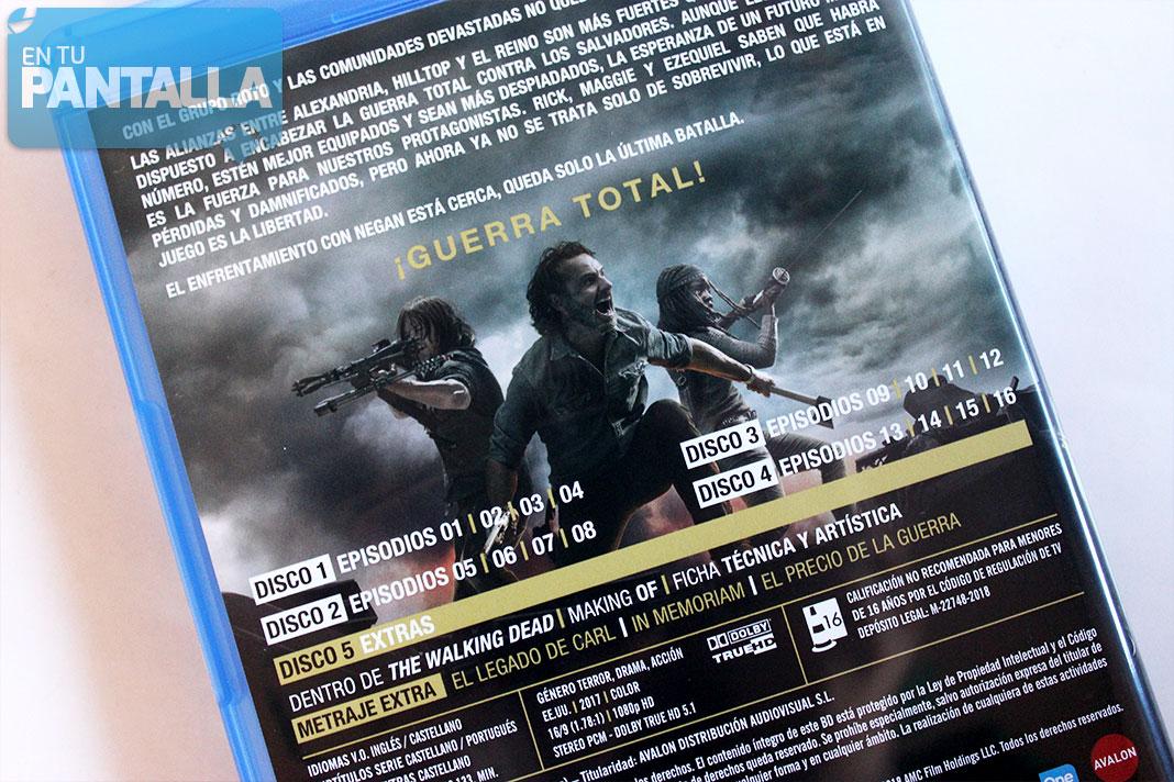 The Walking Dead Temporada 8 Un Análisis De La Edición Blu Ray En Tu Pantalla