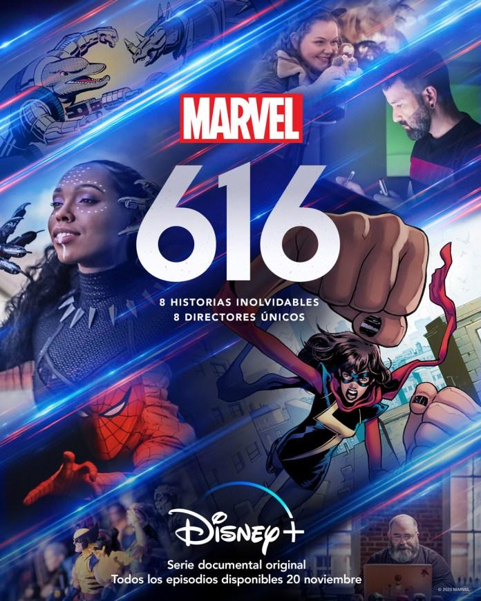 Póster de 'Marvel's 616'. (Fuente: Disney+)
