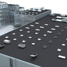 3d-Gebäude für Produkt-Systeme