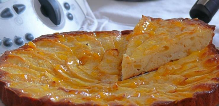 Tarta de manzana 'twin apple'
