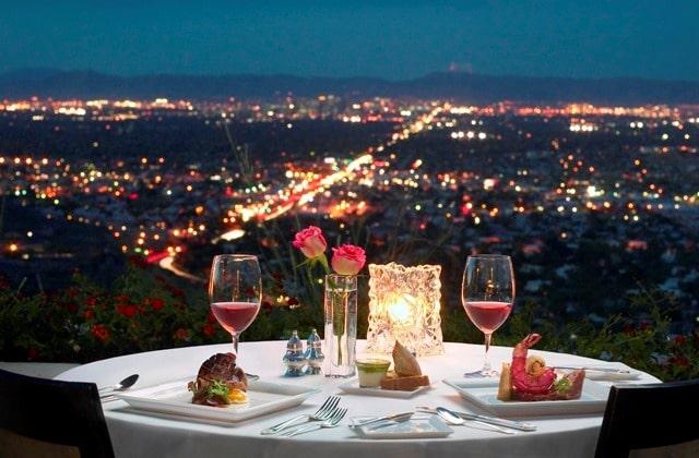 San valentin invita a cenar