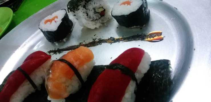 Cursos de cocina en Madrid , Sushi