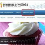 Publicar recetas en el blog