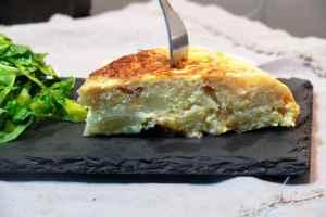 tortilla de coliflor
