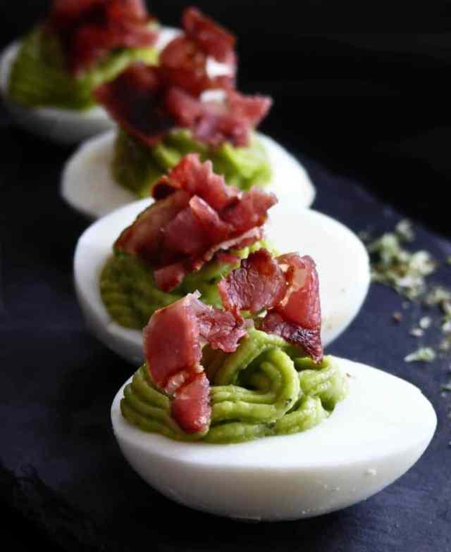 huevos con guacamole