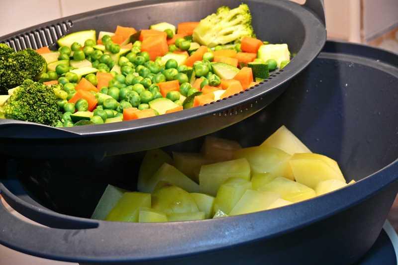Varoma thermomix for Cocinar judias verdes