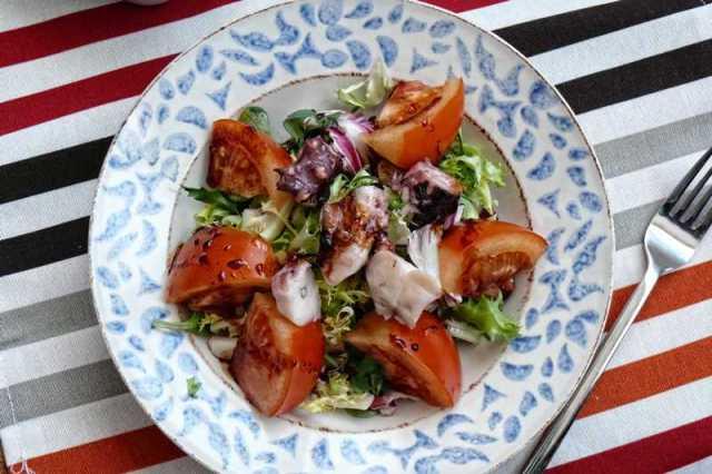 ensalada con soja