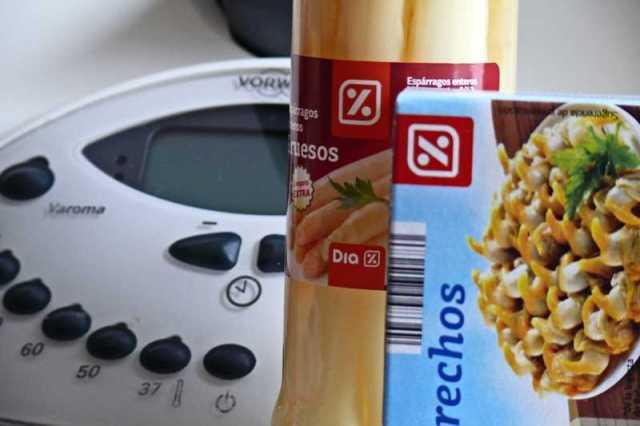 receta supermercados dia