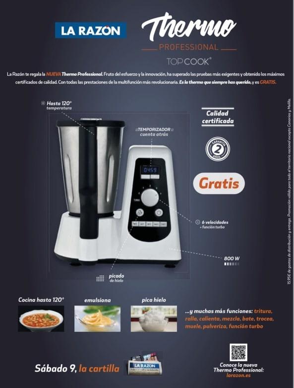 Thermo professional otro robot de cocina gratis con la raz n - Robot de cocina la razon ...