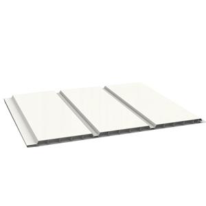 Lambris Pvc Blanc Alveolaire 0m30x6m00 Ep 10mm Envain Materiaux