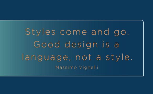 design language quote
