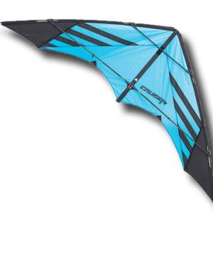 cerf volant bleu