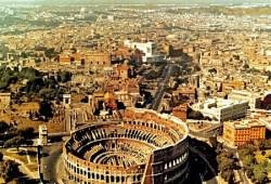 roma imagen aerea tour por la ciudad