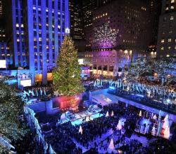 destino familiar ciudad de nueva york en navidad