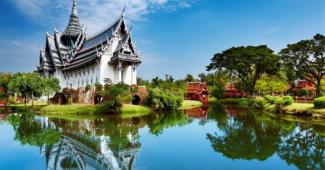 paisaje tipico de tailandia
