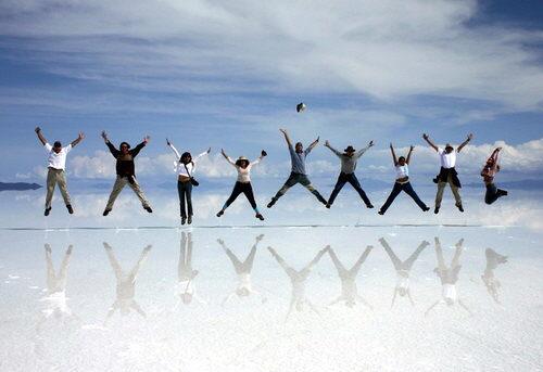 Turismo en Uyuni. Entre el cielo y la Tierra