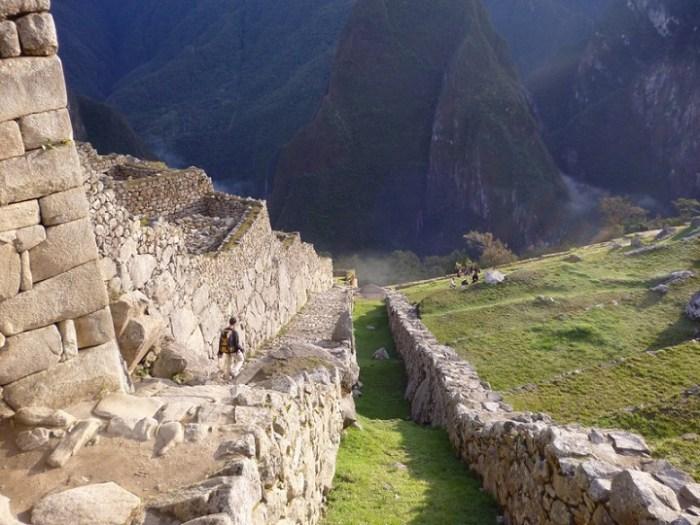 arquitectura montana de rocas machu picchu