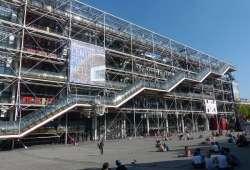 Centro Pompidou - Museo de Arte Moderno de París