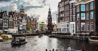 Holanda - Canal de Ámsterdam