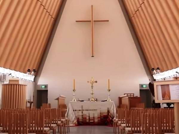 Interior de la iglesia de Christchurch