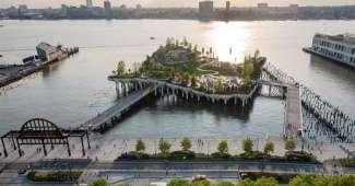 Little Island, parque río Hudson - NYC