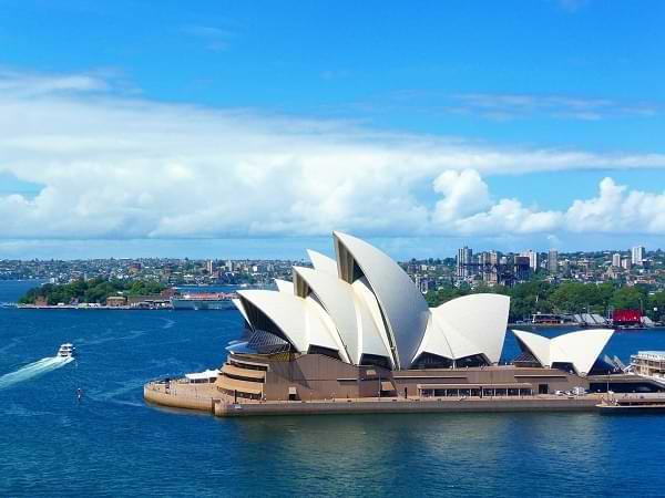 Destinos turísticos más visitados de Australia - Opera de Sydney