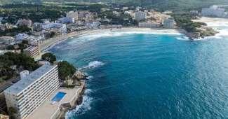 Paguera, playas en Mallorca, España