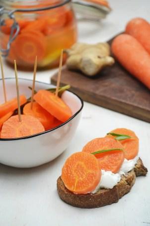 pickles carottes