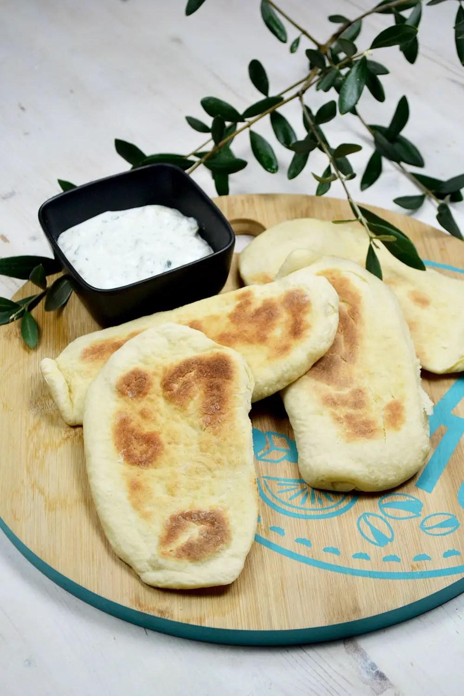 pain libanais avec le micro pro grill de tupperware