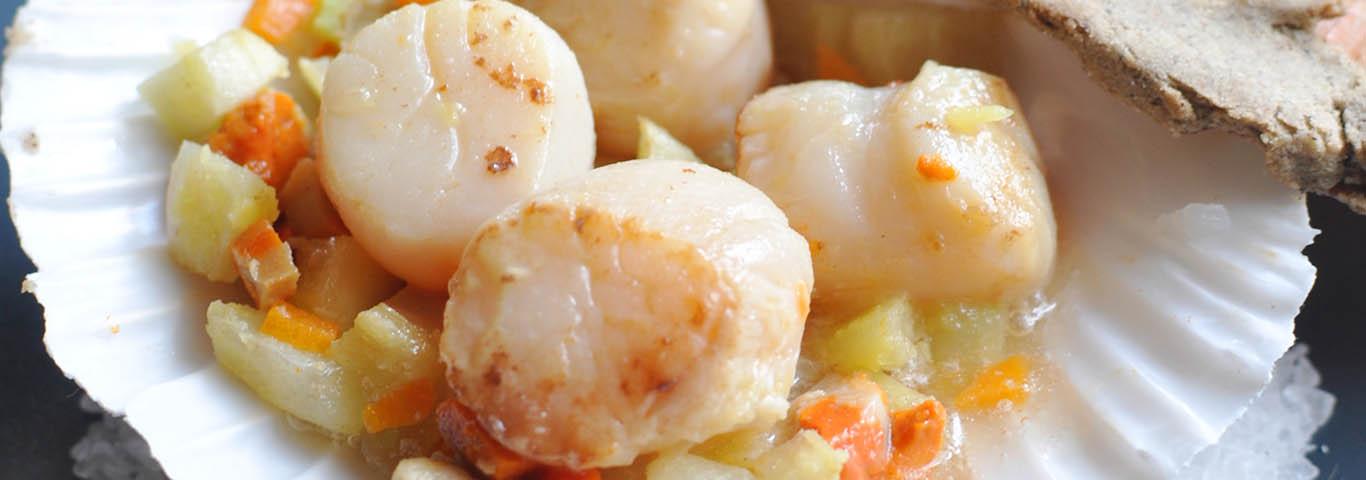 recettes noix de saint jacques envie