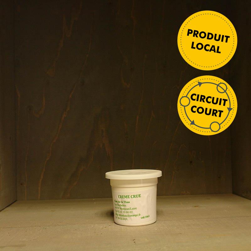 GAEC de la Thau - crème crue (10cL)