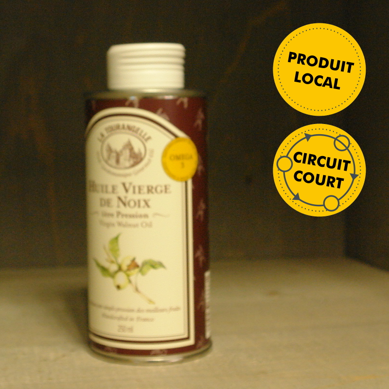 Huilerie de la Croix Verte - La Tourangelle - huile vierge de noix