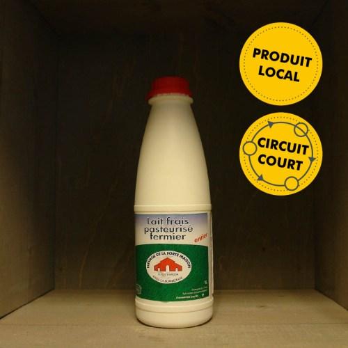 La Forte Maison - lait entier frais pasteurisé fermier (1L)