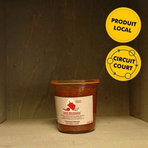 SCEA Boré-Charruau - Sauce Bolognaise (500g)