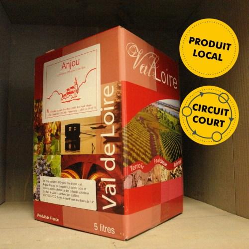 Vignoble Musset-Roullier - Anjou Rouge 5L