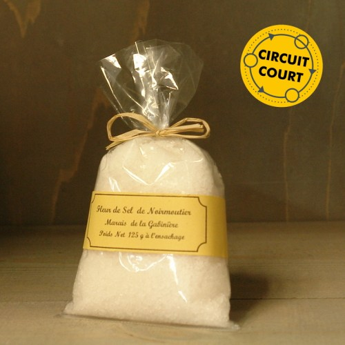Jean-Pierre Ostermann - fleur de sel de Noirmoutier (125g)