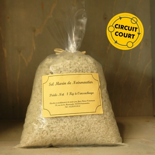 Jean-Pierre Ostermann - Gros sel de Noirmoutier (1kg)