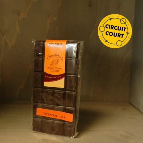La Route du Cacao - tablette de chocolat origine noir 90gLa Route du Cacao - tablette de chocolat origine noir 90g