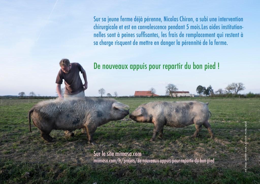 Nicolas Chiron financement participatif