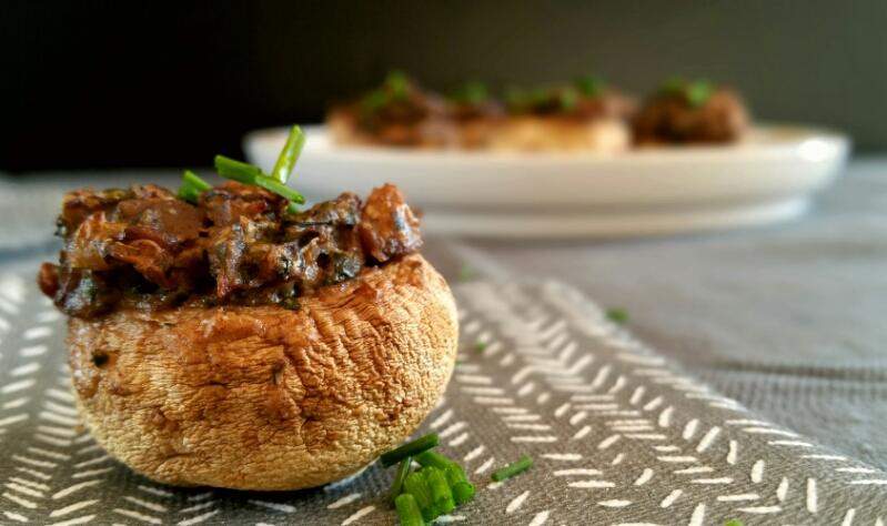 Berühmt Noël gourmand & vegan : 3 idées de champignons farcis pour l'apéro  LT85