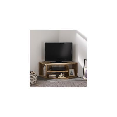 meuble tv angle modulable en bois