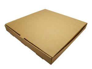 16in brown kraft pizza box