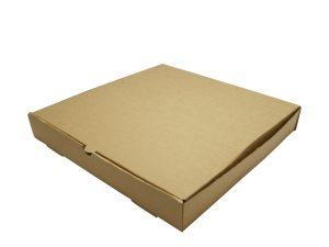 12in brown kraft pizza box