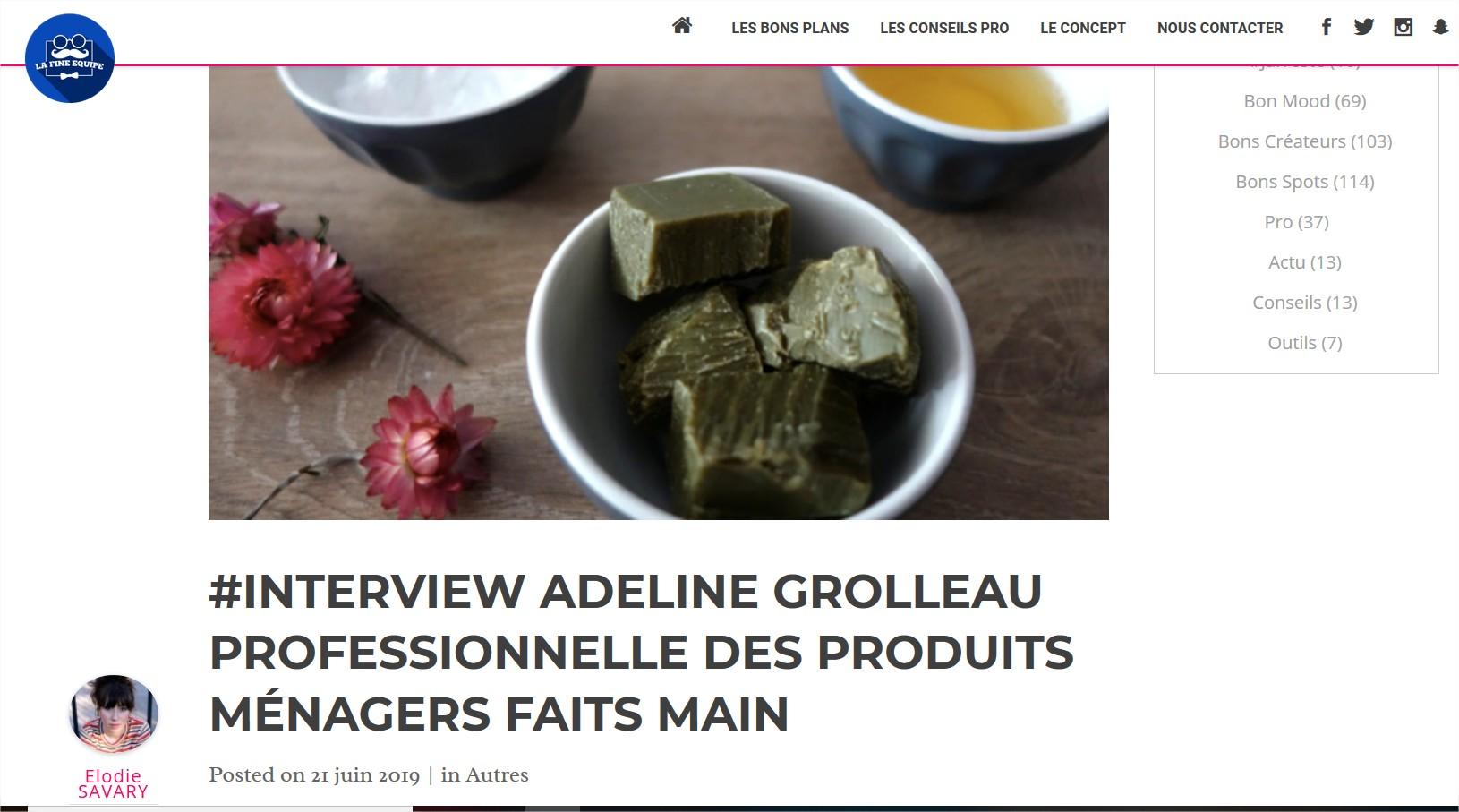 Interview métier par La Fine Equipe