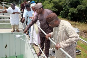 Projects completion, initiation mark Gov Fayemi's two years in office WATER TREATMENT PLANT AT EFON ALAAYE 1 300x200